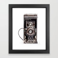 67-6 VINTAGE CAMERA COLLECTION  Framed Art Print