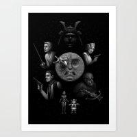 Ye Olde Space Movie Art Print