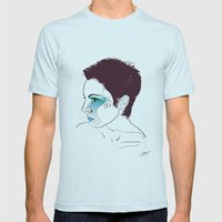 Pixiedust Mens Fitted Tee Light Blue SMALL