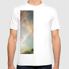 Mexico Sunset Mens Fitted Tee SMALL White