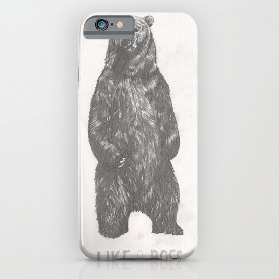 Like a Boss Bear iPhone & iPod Case