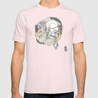 S ( he). Mens Fitted Tee Light Pink SMALL
