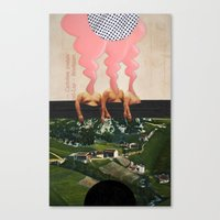 The Noon Guns (Front) Canvas Print