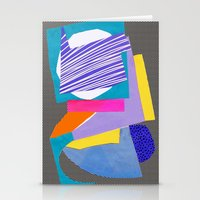 Magnetic content Stationery Cards