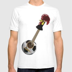 fado, soccer,and a cock from barcelos Mens Fitted Tee White SMALL
