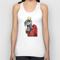 Jackhook Metal Skeleton Unisex Tank Top