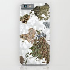 CAMO WORLD ATLAS MAP (WHITE) Slim Case iPhone 6s