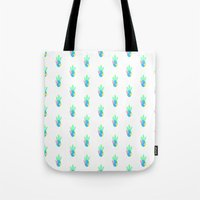 Cactus - White Tote Bag