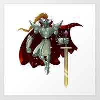 King Arthur Art Print