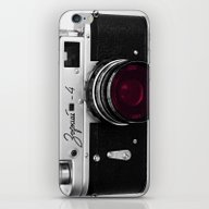 iPhone & iPod Skin featuring Vintage Camera by 2sweet4words Designs