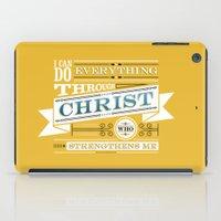 Philippians 4:13 iPad Case