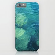 Beau Aqua iPhone 6 Slim Case