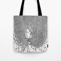 The distance between me and you Tote Bag