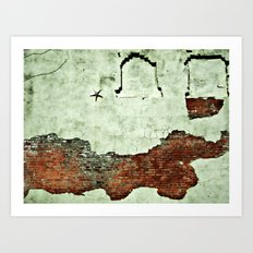 i like to save the crumbs. Art Print