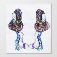 humans-prog Canvas Print