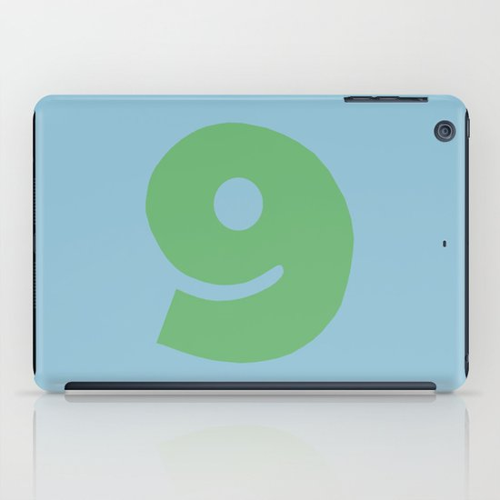 Number 9 iPad Case