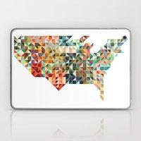 Geometric United States Laptop & iPad Skin