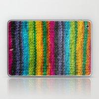 Rainbow In Wool Laptop & iPad Skin