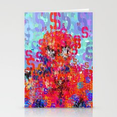 Spider Type Man - Abstra… Stationery Cards