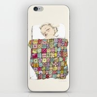 sleeping child iPhone & iPod Skin