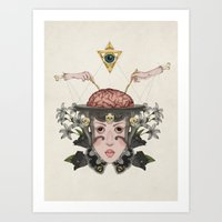 9-5 Art Print