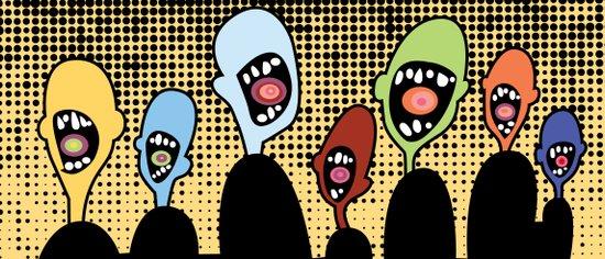 Screamers Art Print