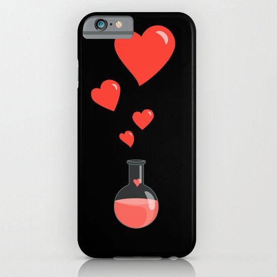 Love Chemistry Flask of Hearts iPhone & iPod Case