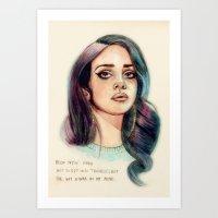 I've Got A War In My Min… Art Print