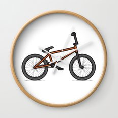 #17 BMX Wall Clock