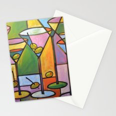 Martinis and Olives Stationery Cards