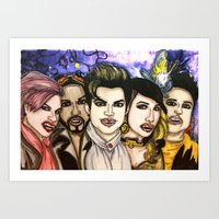 Happy GlamWeen Art Print