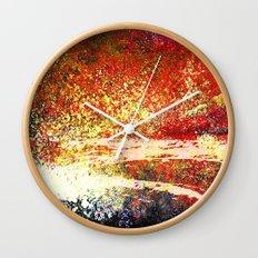 Hollowfield Four Months Wall Clock