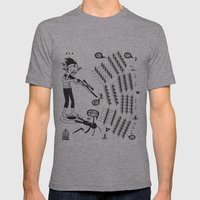 SORRY I MUST RUN - ULTIMATE WEAPON ARROW [FINAL ROUND] Mens Fitted Tee Athletic Grey SMALL