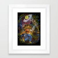 redskin planet Framed Art Print