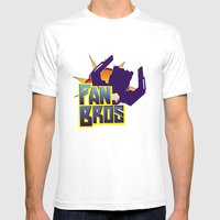 Fan Bros Mens Fitted Tee White SMALL