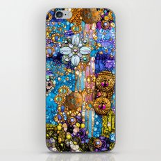Gold, Glitter, Gems and Sparkles iPhone & iPod Skin