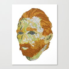 Who is Vincent van Gogh? Canvas Print