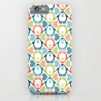 NGWINI - penguin love pattern 5 iPhone 6 Slim Case