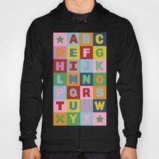 Alphabet Portrait Hoody