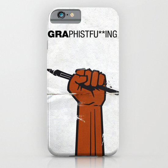 Graphistfu**ing iPhone & iPod Case