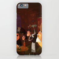 iPhone & iPod Case featuring Half past 9 by James Cassettari