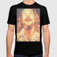 The Dude Mens Fitted Tee Black SMALL