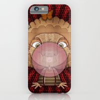 iPhone & iPod Case featuring Bubble gum by José Luis Guerrero
