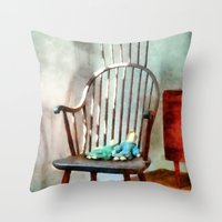 Special Friends - Waterc… Throw Pillow