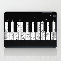 Piano Skyline iPad Case