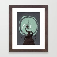 Night Hunt Framed Art Print