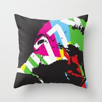 Dizzy Throw Pillow