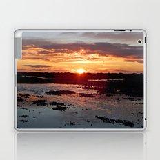 Sunset from the Beach Laptop & iPad Skin