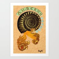 Alphonse Mollusk Art Print