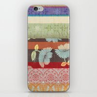Color Strips iPhone & iPod Skin
